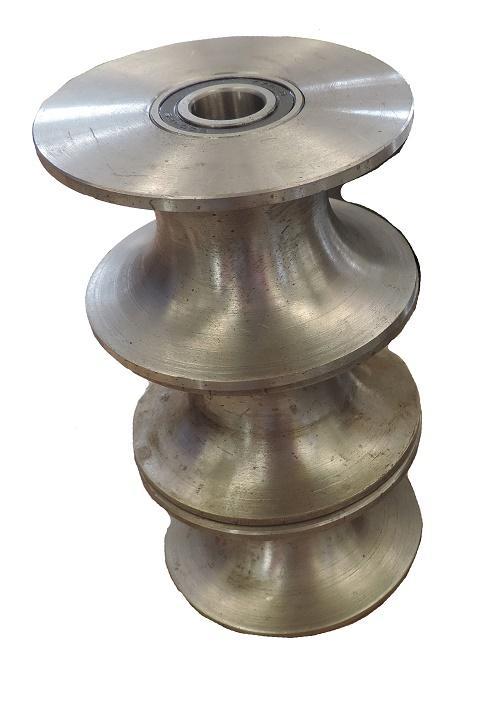 Exhaust Tubing Bender >> RING ROLLER PIPE BENDER BENCH MOUNTED TUBE - Metz Tools